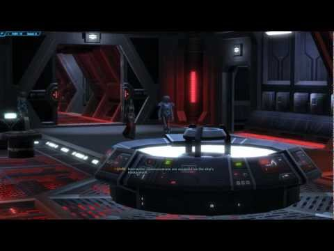 SWTOR Starships | Fury – Sith Warrior/Inquisitor Class | Acquisition, Tour & Space Combat