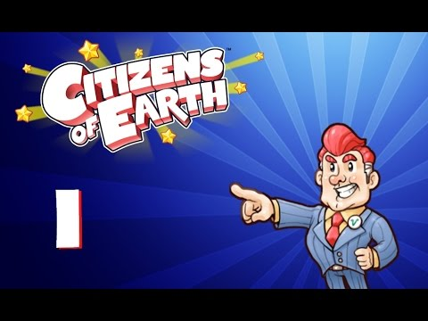 Lets Play Citizens Of Earth Part 1