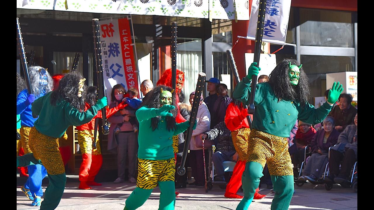 setsubun japanese spring exorcism at chichibu shrine  u7bc0 u5206