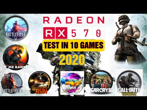RX 570 4GB WITH INTEL (XEON 1275 V3) TEST IN 10 GAMES IN ULTRA SETTINGS 1080P IN (2020)