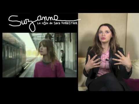 SUZANNE Film : Sara FORESTIER nous parle de son rôle  Bandeannonce.