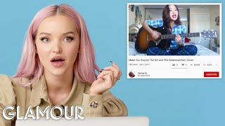 Download Dove Cameron Watches Fan Covers on YouTube   Glamour Mp3 and Videos