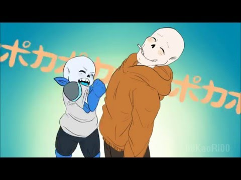 "Underswap ""ポカポカPOKAPOKA"" animation"