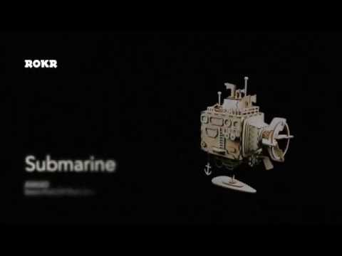 DIY Music Box AM680 Submarine by Robotime
