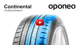 Tyre Continental ContiEcoContact 5 ● Summer Tyres ● Oponeo™