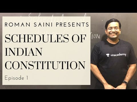 Polity Potions | Schedules of Indian Constitution | Episode 1