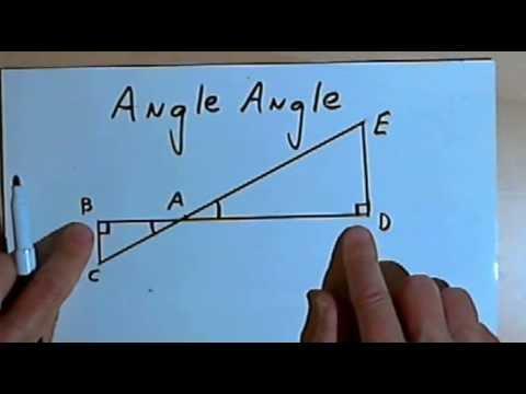 Triangle Similarity - SSS, SAS, and AA 128-2.28