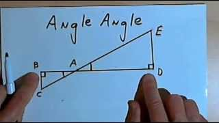 Triangle Similarity - SSS, SAS, and AA 128-2.28