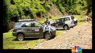 Pajero Vs Fortuner in J&K on OVERDRIVE