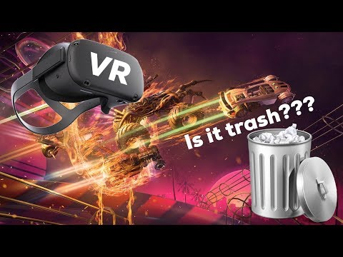 New Oculus Quest Racing Game is REALLY BAD !!! Death Lap Review