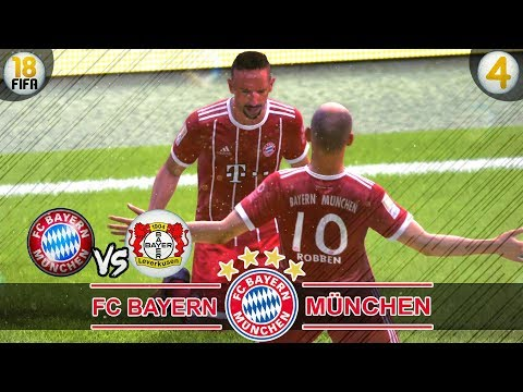 FC Bayern vs Bayer Leverkusen | Fifa 18 Karrieremodus #04