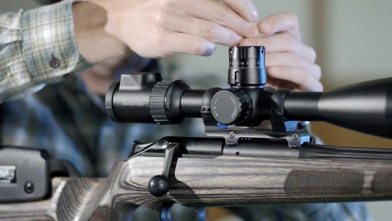 Zielfernrohr Mit Entfernungsmesser Test : Swarovski optik u so schießen sie das zielfernrohr ein youtube