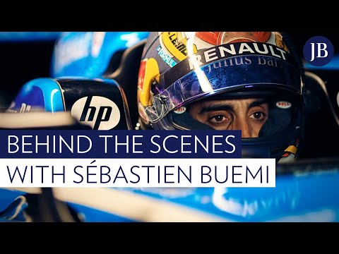 Behind the scenes with Sébastien Buemi