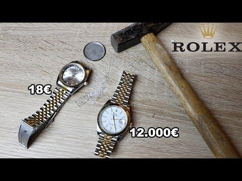 12.000€ ROLEX UHR ZERSTÖRT PRANK !!!   PrankBrosTV