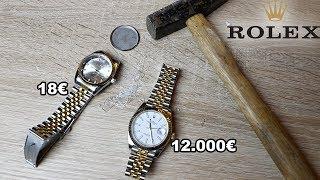 12.000€ ROLEX UHR ZERSTÖRT PRANK !!! | PrankBrosTV