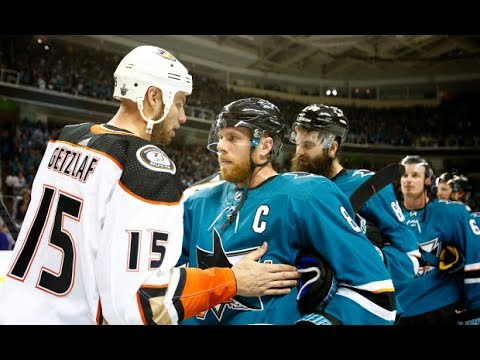 Highlights Anaheim Ducks - San Jose Sharks NHL Playoffs 2018