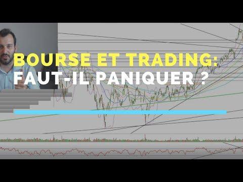 Faut-il paniquer à l'idée d'un crash: réponse   bourse et trading #48