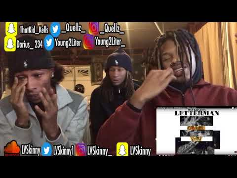 Wiz Khalifa - Letterman (Reaction Video)