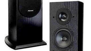 PIONEER SP-FS52 Floor Speakers (Andrew Jones Design) Demo with & w/o Dayton Sub - HQ Stereo