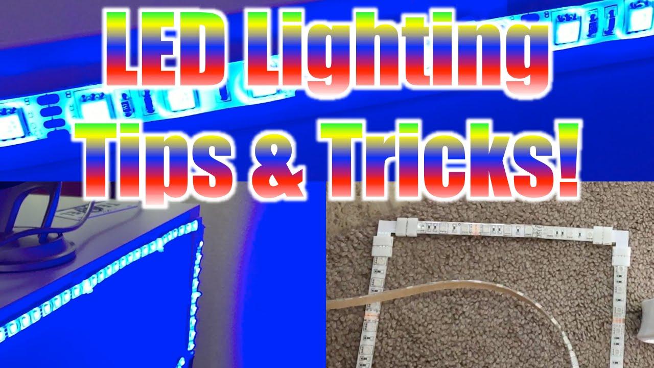 Led strip lighting tips for gaming desk setups 90 degree angles led strip lighting tips for gaming desk setups 90 degree angles custom mounts youtube aloadofball Gallery
