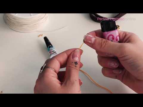 Tecnica di base per la creazione di gioielli: come creare una capocchia su un filo a coda di topo?