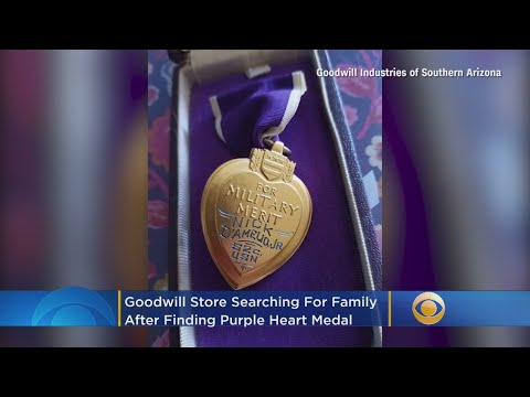 Heath West - Goodwill Finds WWII Vet's Purple Heart And Searches For His Family