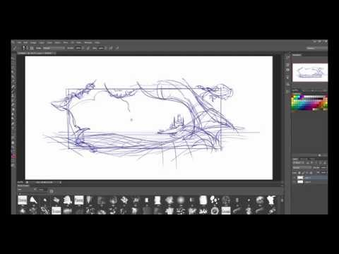 Drawing Organics Environments-  How to Start