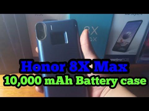 Honor 8x max | 10,000 mAh Shockproof Charging Case
