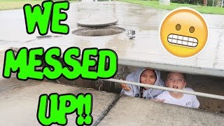 vuclip BOY IN SEWER ON RAINY DAYS!