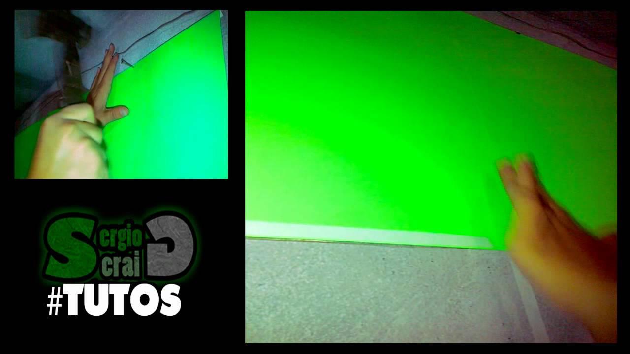 TUTORIAL- Como Hacer Una Pantalla Verde (Green Screen