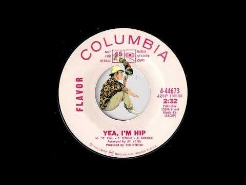 Flavor - Yea, I'm Hip [Columbia] 1968 Psych Garage Rock 45
