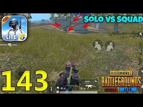Can Techzamazing Win SOLO Vs Full Squad??   PUBG Mobile Lite