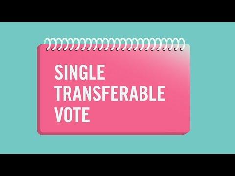 Single transferable vote explained