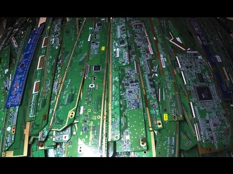 Gold Finger Strip Boards from LCD TV's & Monitors