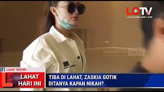 Download lagu LAHAT HARI INI : ZASKIA GOTIK DITANYA KAPAN NIKAH SAAT TIBA DI LAHAT