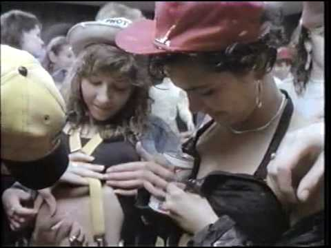How the Beastie Boys party. (Licensed To Ill VHS 1987.)