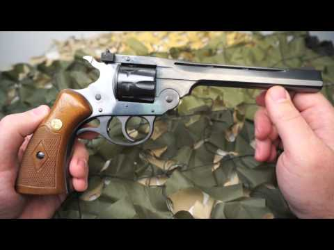 H&R Model 999 Sportsman 22lr 9 Shot Top Break Revolver Review - Texas Gun Blog