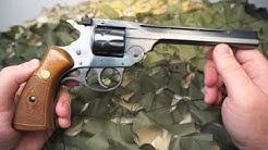 H&R Model 999 Sportsman 22lr 9 Shot Top Break Revolver Review - Texas Gun Blog
