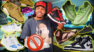 WTF ARE THESE!? CACTUS JACK AJ6, 2019 BRED AJ1, PATTA X JORDAN, GLOW YEEZY 350 & MORE! TRASH OR NAH