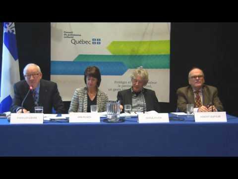 Charlesbourg - séance d'information - 27 octobre 2014