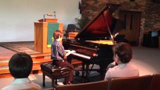 Sam's spring piano recital May 2013 Thumbnail
