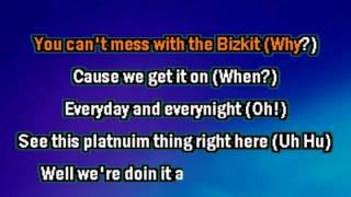 Limp Bizkit   Keep Rolling karaoke