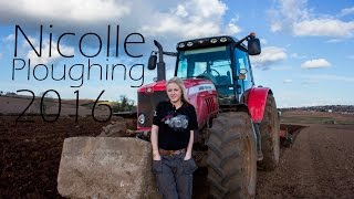 Ploughing 2016 With Nicolle