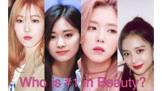 Beauty ranking twice,gfriend,red velvet ...