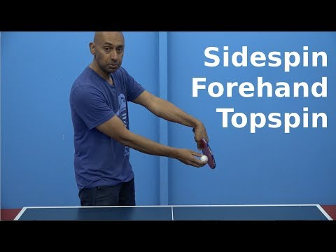 Sidespin Forehand Topspin | PingSkills | Table Tennis