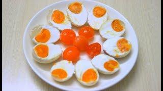 Cách làm Trứng Vịt Muối ngon tại nhà không tanh bảo quản được lâu