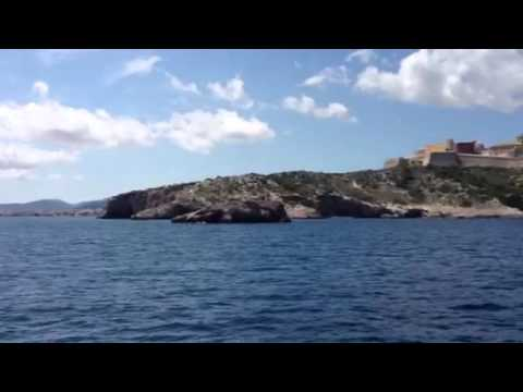 Entering Ibiza Harbor