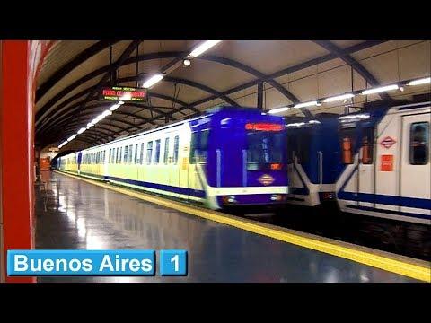 Metro de Madrid : Buenos Aires L1 ( Serie 2000A )