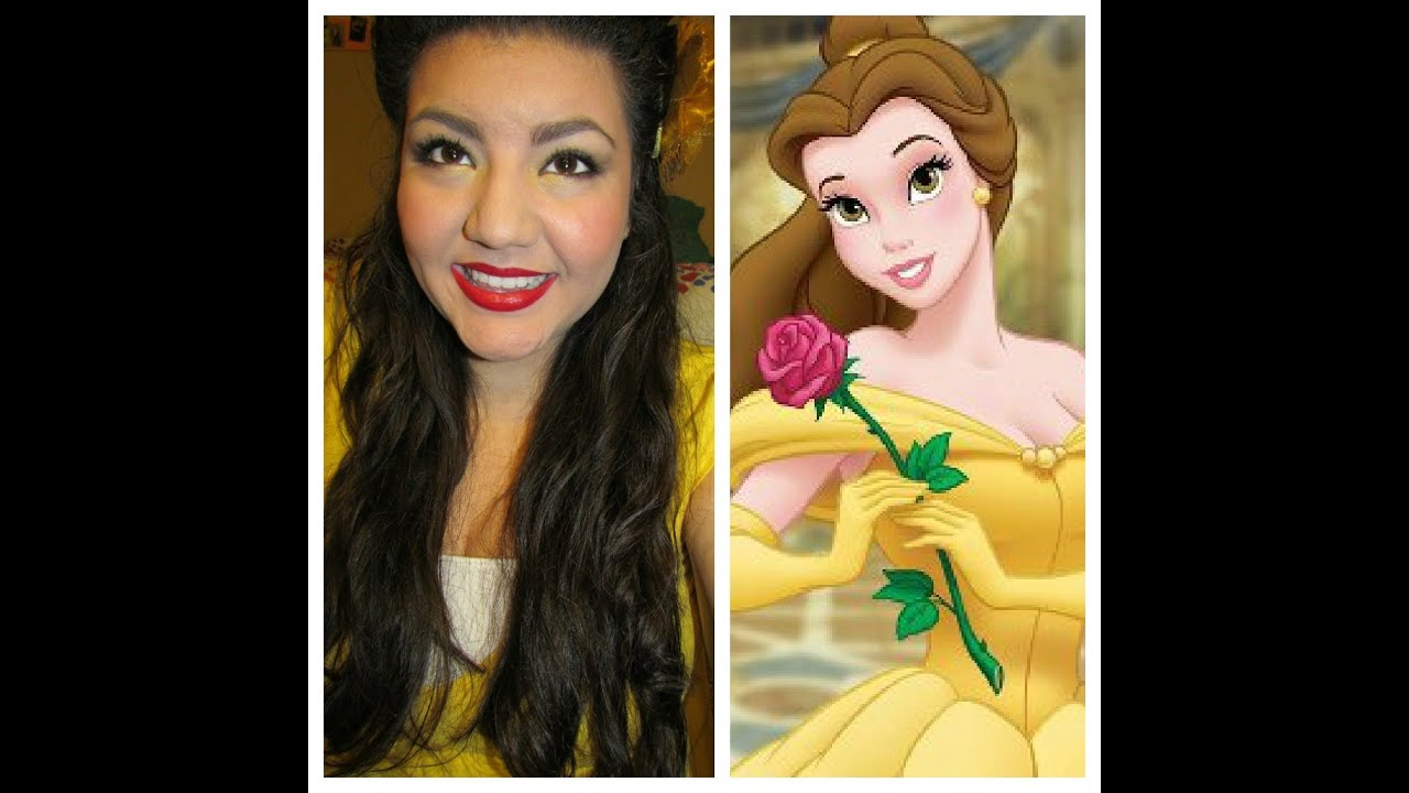 Princess Belle Makeup: Disney's Princess Belle (Beauty And The Beast) Inspired