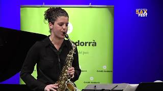 SILVIA SANAGUSTIN – 2nd ROUND – III ANDORRA INTERNATIONAL SAXOPHONE COMPETITION 2016